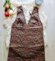 Címkés People Fabrika jacquard mini ruha 36/S