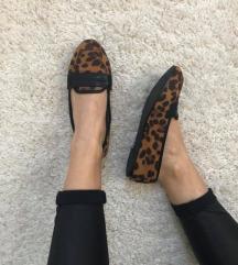 Leopárdos balerina cipő