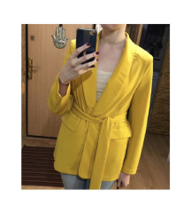 ☀️SHEIN sárga blézer/kimono☀️