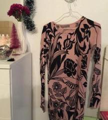 DIVATOS elegáns alklami virágos ruha