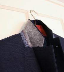 Új, címkés sötétkék MANGO férfi öltöny