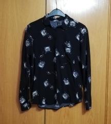 Fekete cicás ing