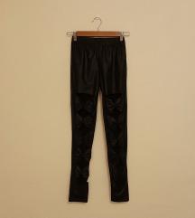 Fekete masnis leggings