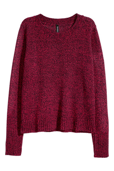 H&M kötött pulóver