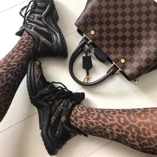 LV stílusú sneakers (08.16ig INGYEN postázom)
