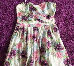 Nyári virágos ruha S