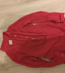 Piros fehér pöttyös ing