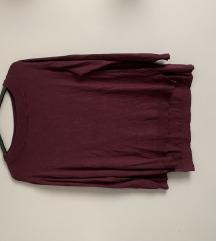 new yorker amisu bordó pulóver