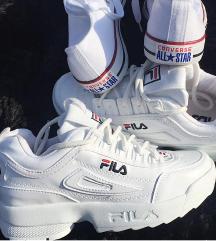 Új fila disruptor ,ajándék új converse cipő !