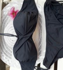 Szürke, szivacsos melltartóval bikini