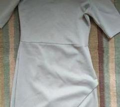 Szürke átlapolt Missguided ruha