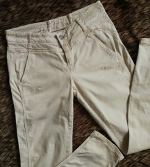 krém színű / bézs 36os nadrág