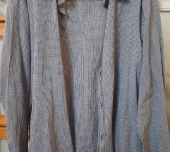 Szürke, kockás férfi ing
