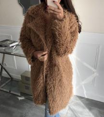 ÚJ CÍMKÉS barna teddy coat - ingyen posta!