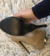 Platformos magassarkú cipő