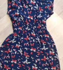 Pillangó mintás nyári ruha S-M