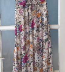 H&M maxiruha virágos floral