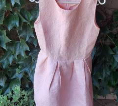 Púderrózsaszín alkalmi ruha