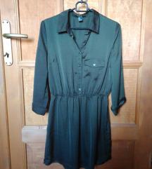 Méregzöld nyári ruha