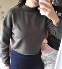 Khaki zöld pulóver