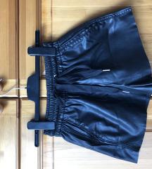 bőrhatású rövidnadrág