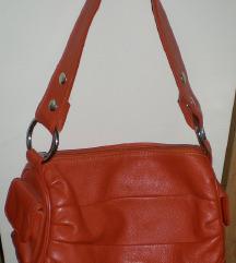 Eredeti újsz. Rosa Rosso narancs bőr táska