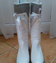 Új, fehér Tamaris 37-es csizma