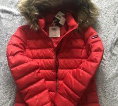 Új, cimkés Tommy Jeans téli kabát/ pufidzseki