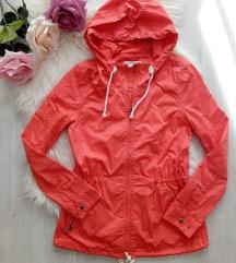 H&M kapucnis vastag vászon kabát 38/M