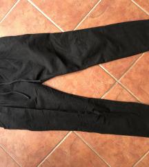 Fekete megkötős bemelegítő nadrág