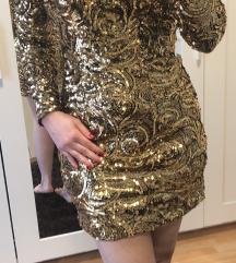 Mohito arany flitteres ruha