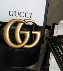 Gucci öv (A+++-os replika, valódi bőr)