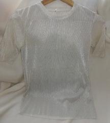 Ezüstös női stradivarius póló