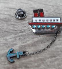 Tengerész style kitűző/pin ⛴