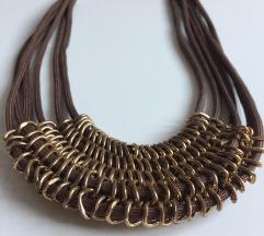 Arany-barna nyaklánc