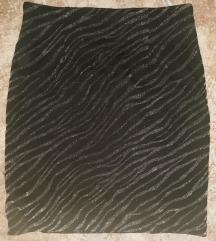 40-es ezüst csillogós szoknya