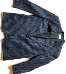 Eredeti vintage Pierre Cardin kockás gyapjú zakó