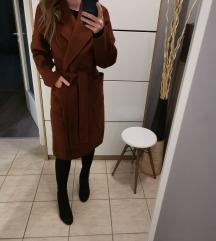 Mohito barna megkötős kabát