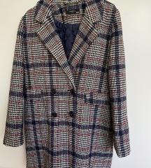 Reserved kockás kabát