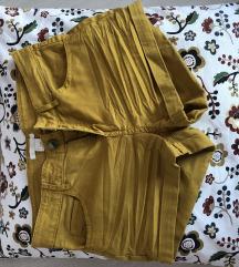 Mustársárga rövidnadrág