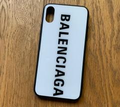 Balenciaga iPhone X telefontok case