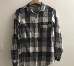 Camaieu szürke kockás ing