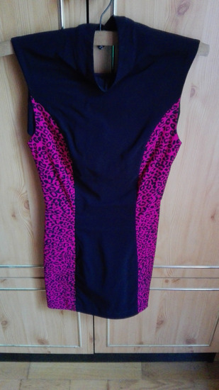 Csini leopard mintás ruha