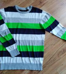 Csíkos fiú pulóver C&A