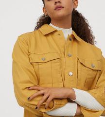 H&M Mustár sárga farmerdzseki