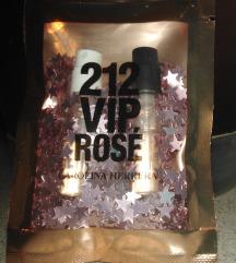 Carolina Herrera 212 VIP + Rosé minták eladók
