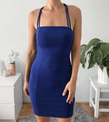 H&M kék pántos ruha