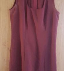 Bordó kosztüm ruha, varratott AKCIÓ
