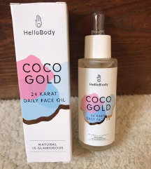 HelloBody Coco Gold szérum 24 karátos arannyal