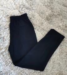 Zara sötétkék elegáns nadrág XS Leárazva